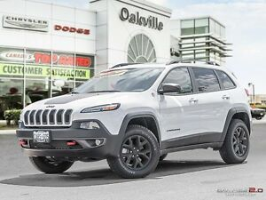 2017 Jeep Cherokee TRAILHAWK | DEMO | 0% FOR 72 MONTHS! |