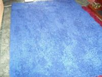 Large Blue Rug (good clean condition)