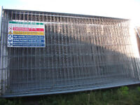 Heras Fencing Panels, Feet, Clips, Security Panels and Security Netting