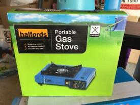 Gas stove portable for camping