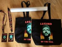 The Weeknd: VIP Merchandise (from 2017 UK Tour)