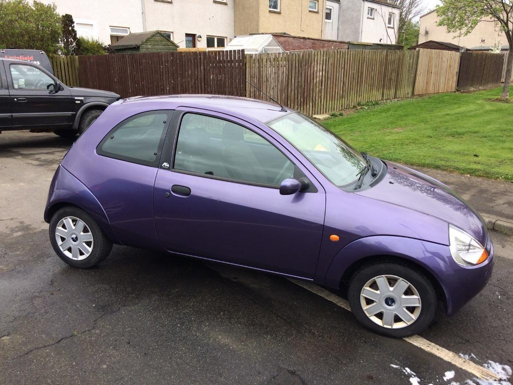 Purple Ford Ka   Door For Sale
