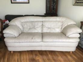 Leather Sofa - Offers Welcome
