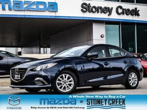 2014 Mazda MAZDA3 GS AUTO,CRUISE,B/UP+B/T,LOW KMS,ACC FREE,1 OWN