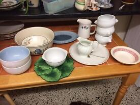 kitchen/crockery job lot bargain everything on the 5 pictures for £15