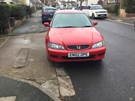 Honda Accord sport nice clean car low millage with full service history