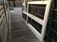 Aluminium French door/ window new. CAN ARRANGE DELIVERY AFTER VIEWING
