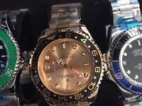Rolex gmt gold £40 can deliv local or post