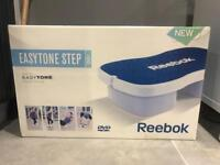 Reebok step easytone with dvd workout equipment gym conditioning fitness