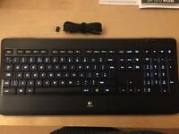 Logitech K800 Wireless Keyboard
