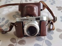 35mm camera with case