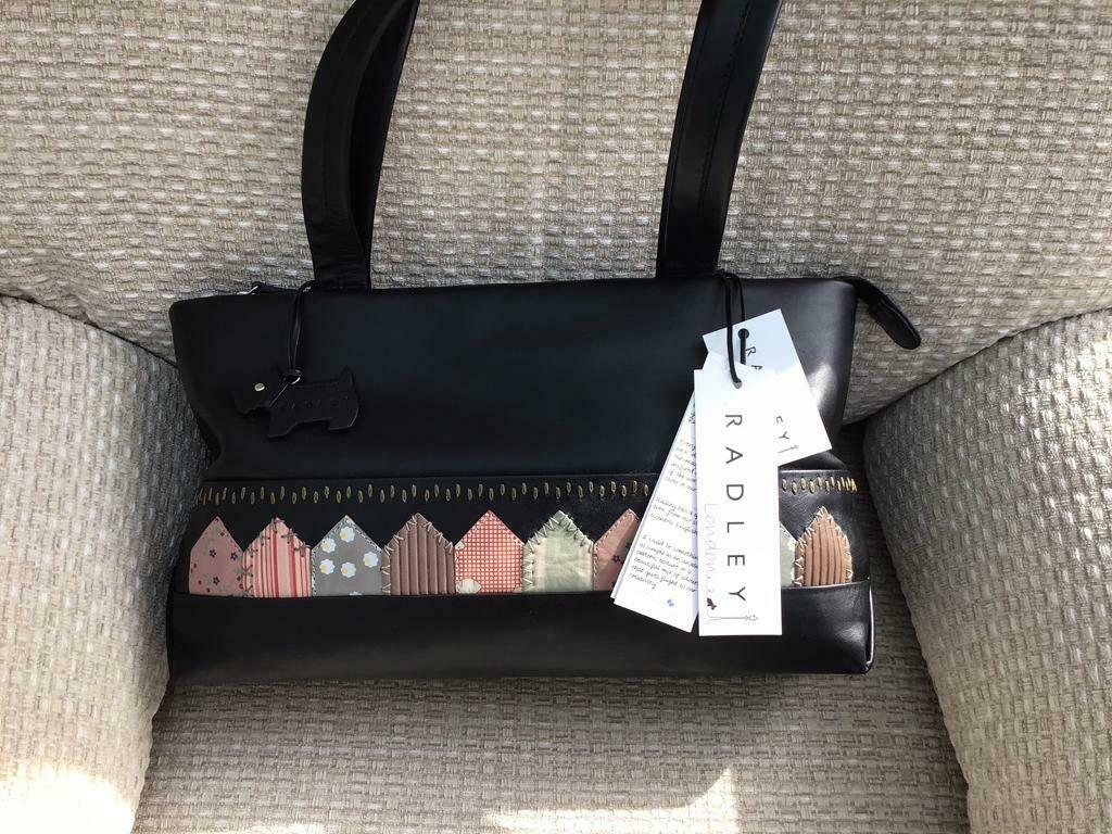 Radley New With Tags Taunton Black Soft Leather Handbag In Wigan Manchester Gumtree