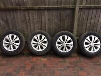 Honda CR-V alloys and tyres