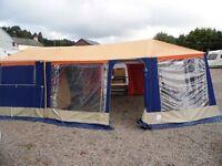 Raclet Flores 480r Trailer tent