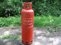 Large EMPTY 45kg Calor Propane Gas Bottle