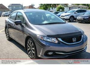 2015 Honda Civic Touring *Cuir*GPS*