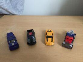 Transformer cars figure bundle