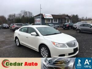 2010 Buick LaCrosse CX - Local Trade - V6 - Winter Tire Package