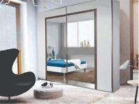 BRAND NEW ARESENAL SLIDING WARDROBE WITH MIRROR**HIGH QUALITY**ELEGANT LOOK**GRAND SALE**LOW PRICE**