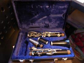 Boosey & Hawkes Regent plastic Clarinet in B-flat - 1970's - in full working order