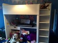 Ikea White Cabin Bed £100 o.n.o