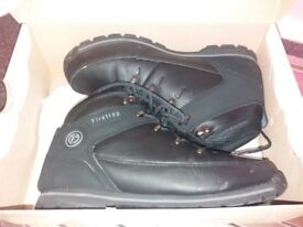 MENS FIRETRAP BOOTS size 9 LIKE NEW WORN ONCE