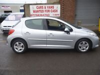 Peugeot 207 sport cielo,1397 cc 5 door hatchback,1 previous owner,2 keys,very nice clean tidy car