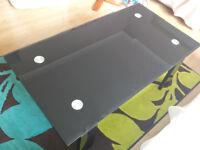 Living Room Coffee Table Black Modern Rectangle Shape £25