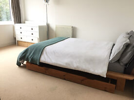 Spacious, bright and airy double room to rent