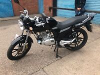Lexmoto street 125cc only done 89 miles from new
