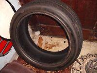 245-40-18 tyre plenty of good tread as nearly new