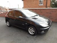 2006 peugeot 206 14 hdi{mot,30 pounds tax,warranty packages ava}