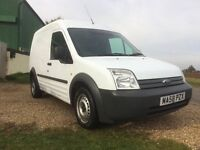 Transit connect ex council service van low mileage ply lined tow bar very clean