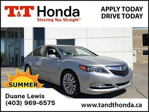 2014 Acura RLX Tech Pckg* Bluetooth/USB, Leather, Rear Camera*