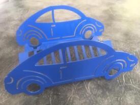 Novelty car CD rack