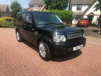 Land Rover discovery 4 HSE 3.0 v6 high spec 2010