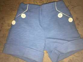 UNISEX 2-3 girls Little Bird shorts with braces CAN POST