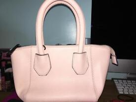 Next Small Light Nude/Pink Bag with Strap
