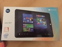 LINX 1010, 10 inch tablet/netbook with Windows 10 operating system complete with removable keyboard