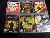 26 PS3 GAMES