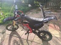 moto x1 140 pitbike