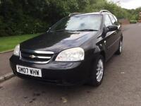 Chevrolet Lacetti 1.6 SX ESTATE , MOTD APRIL 18 , GENUINE MILES (07 reg), Estate