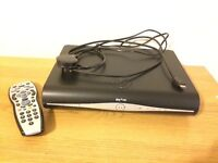 Sky + HD box complete with power cable, HDMI lead and remote control