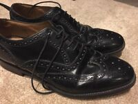 Loake Shoes - Black - size 8.5