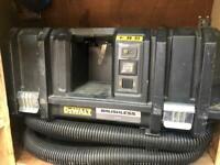 Dewalt flexvolt cordless dust extractor new used once