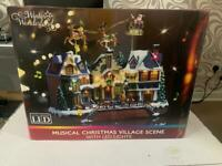christmas musical village