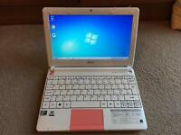 "Acer Aspire laptop, 120 HDD, 2 gb RAM, 10"" Screen"