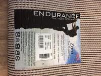 Brand new scs violet endurance fine shaggy rug