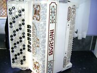 BORSINI SPECIAL NOSTALGIC C SYSTEM CHROMATIC ACCORDION