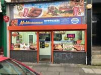 ***PIZZA KEBAB SHOP FOR SALE or rent BUSY MAIN STREET LOCATION cheap rent